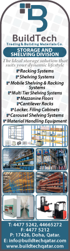 SHELVING AND STORAGE EQUIPMENT AND SUPPLIES BUILDTECH TRADING & BUILDING MATERIALS CO SUPPLIERS IN DOHA QATAR WSRBBA