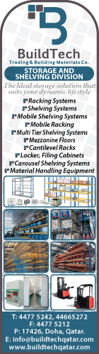 SHELVING & STORAGE EQUIPT & SUPPLIES BUILDTECH TRADING & BUILDING MATERIALS CO SUPPLIERS IN DOHA QATAR WSRBBA