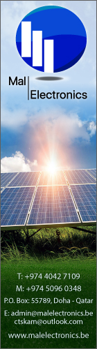 SOLAR ENERGY EQUIPMENT & SERVICES MAL ELECTRONICS TRADING WLL SUPPLIERS IN DOHA QATAR WSLBBA