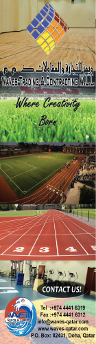 SPORTS FLOORING EQUIPT & SEATING WAVES TRADING & CONTRACTING WLL SUPPLIERS IN DOHA QATAR WSLBBA