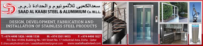 STAINLESS STEEL FABRICATORS SAAD AL KAABI STEEL & ALUMINIUM CO WLL SUPPLIERS IN DOHA QATAR CLPL