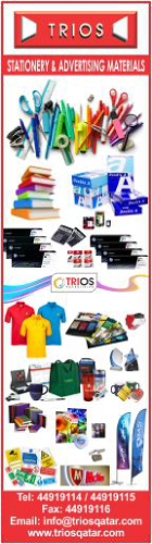 STATIONERY SUPPLIERS TRIOS TRADING WLL SUPPLIERS IN DOHA QATAR WSLBBA