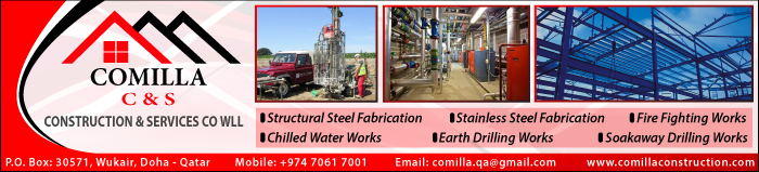 STEEL FABRICATORS & ENGINEERS COMILLA CONSTRUCTION & SERVICES CO WLL SUPPLIERS IN DOHA QATAR CLPL