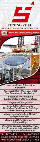 STEEL FABRICATORS & ENGINEERS TECHNO STEEL TRADING & CONTRACTING WLL SUPPLIERS IN DOHA QATAR