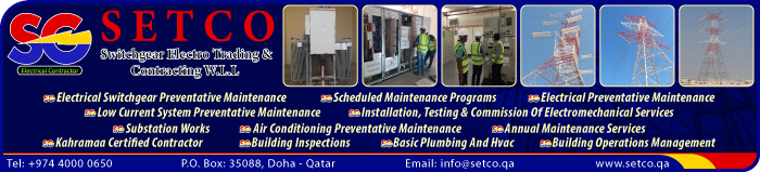 SWITCHGEAR SUPPLIERS SWITCHGEAR ELECTRO TRADING & CONTRACTING WLL (SETCO) SUPPLIERS IN DOHA QATAR CLPL