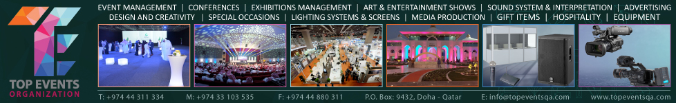 TOP EVENTS ORGANIZATION ( EXHIBITIONS & MEDIA PRODUCTION ) SUPPLIERS IN DOHA QATAR