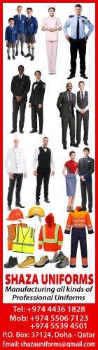 UNIFORM MANUFACTURERS & SUPPLIERS SHAZA FASHION SUPPLIERS IN DOHA QATAR WSLBBA