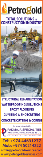 WATERPROOFING CONTRACTORS & SERVICES PETROGOLD & ASSOCIATES TRAD & CONT SUPPLIERS IN DOHA QATAR WSLBBA