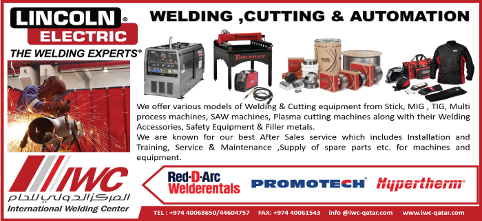 WELDING EQUIPT & SUPPLIES INTERNATIONAL WELDING CENTER SUPPLIERS IN DOHA QATAR CL3H